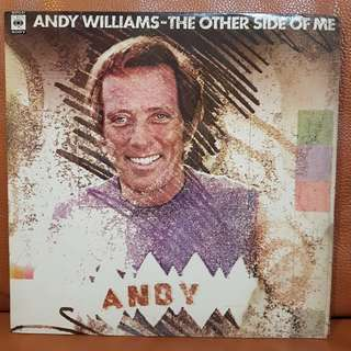 Andy Williams - The Other Side Of Me Vinyl Record