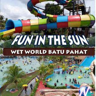 WETWORLD BATU PAHAT BOOKLET VOUCHER