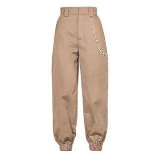High Waisted Cargo Pants