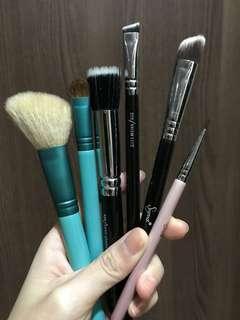 Sigma, zoeva brushes