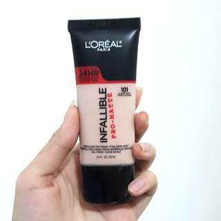 NEW L'Oreal Infallible Pro Matte Liquid Foundation