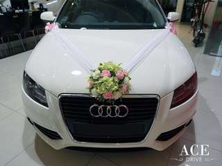 Audi A3 Wedding Car