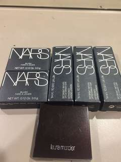 Authentic NARS and LAURA MERCIER