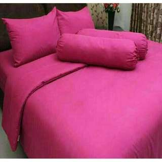 Sprei Rosewell polos pink