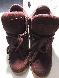 Ash坡跟運動鞋