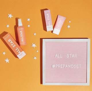 [AVAIL FOR PO❤️] Colourpop new in all star primer & setting spray PO