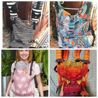 Tula baby/toddler/ftg carriers to clear