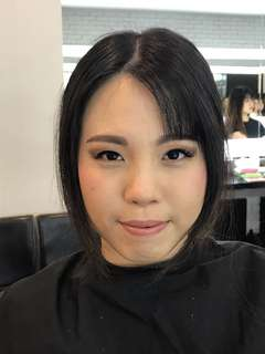 Party Makeup and Hairdo