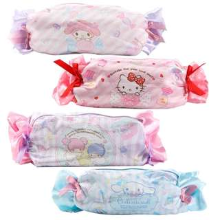 Cartoon Candy Hello Kitty My Melody Cinnamoroll Dog Pudding Dog Cosmetic Bags Storage Travel Pouch Girl Makeup Bags Pencil Case