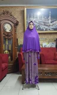 Gamis set jilbab L