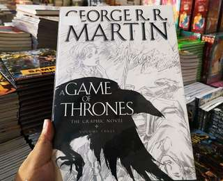 Brand New George R.R. Martin Game of Thrones Volume 3 Graphic Novel
