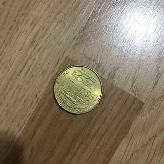 $5 OLD SINGAPORE COIN