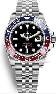 Rolex new gmt