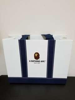 包郵📮A BATHING APE PAPER BAG