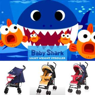 BABY SHARK STROLLER