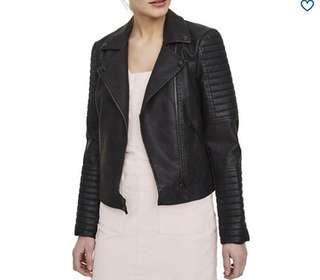 Noisy May Leather Jacket