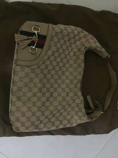 Authentic Gucci Canvas with dustbag