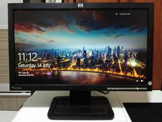 HP monitor screen