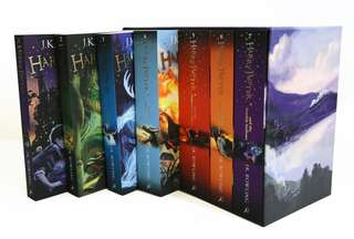 Instock Harry Potter full series book 1/2/3/4/5/6/7 SPECIAL EDITION