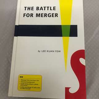 Battle for Merger by LKY