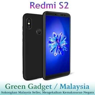 Redmi S2 Case Cover (Black)