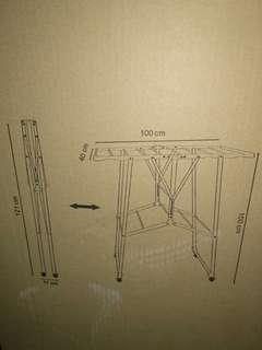 全新未開 - 開合摺疊式洗衣架 (天上野)