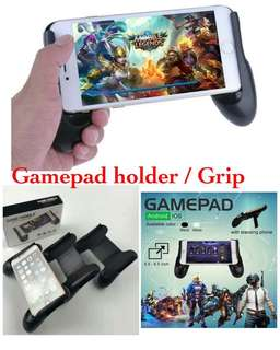 Gamepad controller stick + standing mobile legend