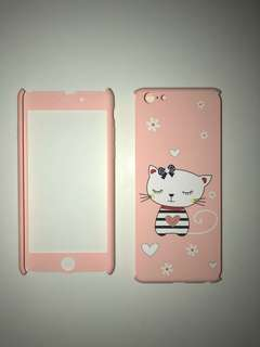 Cute kitty pretty pink phone case for iPhone 6/6s