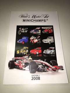 2008 Minichamps Catalogue (Edition 1) 2008.