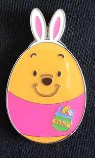 迪士尼 徽章 襟章 Disney egg pin pins Winnie the Pooh 小熊維尼 蛋