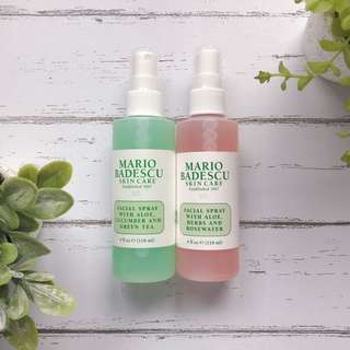 Mario Badescu Facial Spray (Full Size, Variant: Rosewater and Greentea)