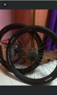 Mtb wheelset *urgent* $100