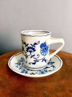 Blue Danube Cup and Saucer