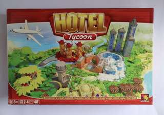 Slightly used: Hotel Tycoon board game