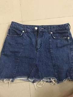 [included postage] H&M Denim Skirt