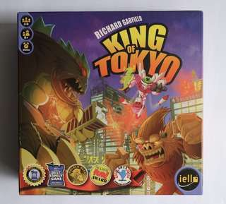 Slightly used: King of Tokyo board game