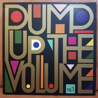 Pump Up The Volume Various Artists Vol 1 Vinyl Record