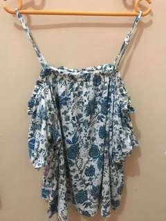 Top Sabrina Brand H&M with Tag