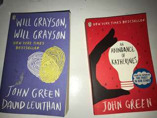 Will Grayson Will Grayson and An Abundance of Katherines