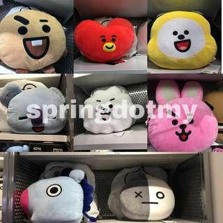 BT21 X Line Friends Official Smile Cushion