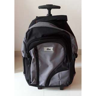 GINO backpack with WHEELS