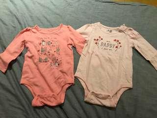 Baby Gap Onesies 12-18mos
