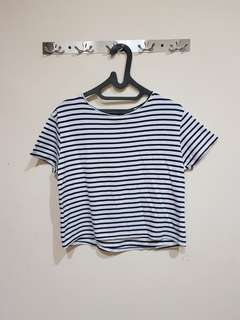 Mango striped shirt