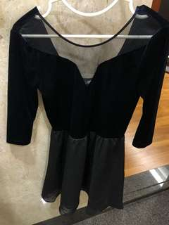 H&M V neck dress