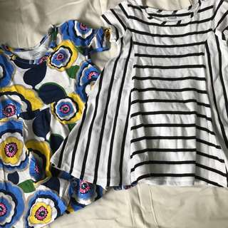Old Navy Print Dresses- 2pcs