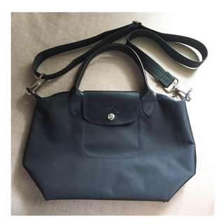 Longchamp black bag small