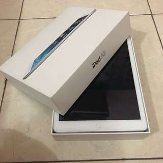 Ipad Air 16gb FULL SET like new!