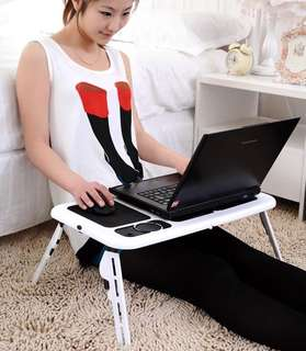 E-table meja laptop lipat unik portable