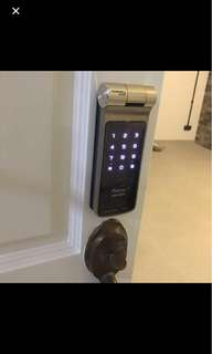Digital lock door z10