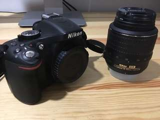 DSLR Nikon d5200